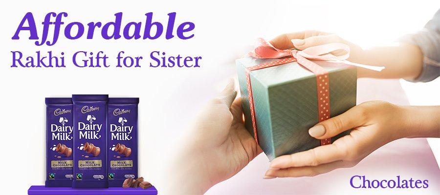 rakshabandhan gifts for sister