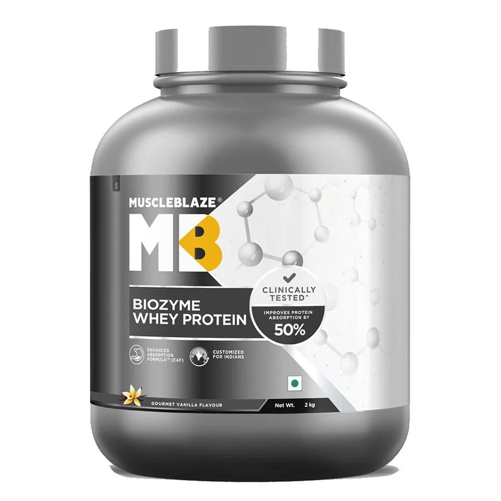 MuscleBlaze Whey Performance (70%) Protein, 8.8 lb, Chocolate