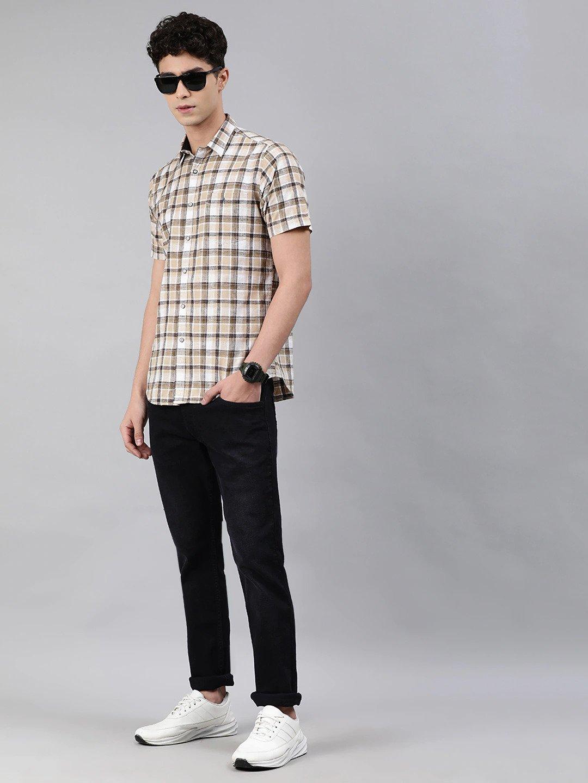 Men Black Skinny Fit Mid-Rise Clean Look Jeans