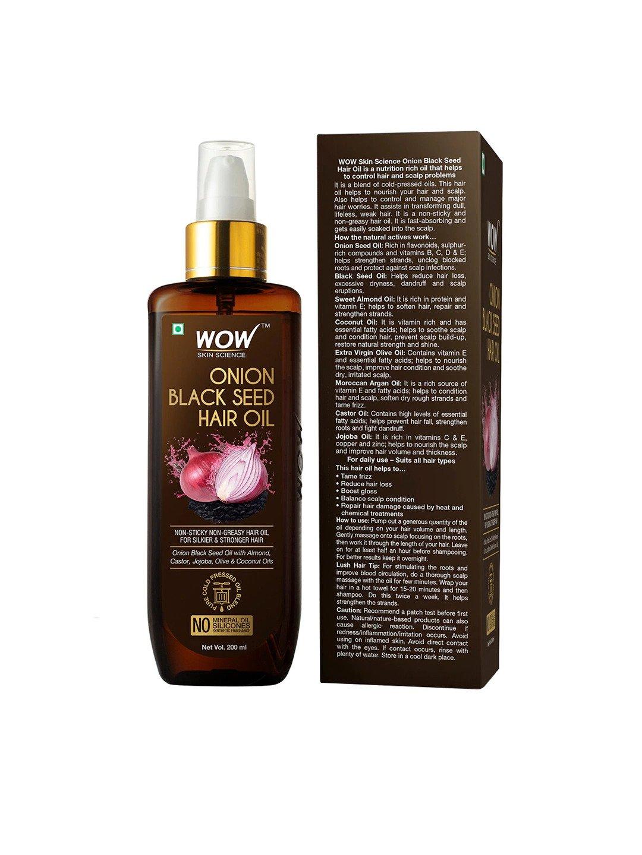 WOW Skin Science Onion Black Seed Hair Oil 200 ml